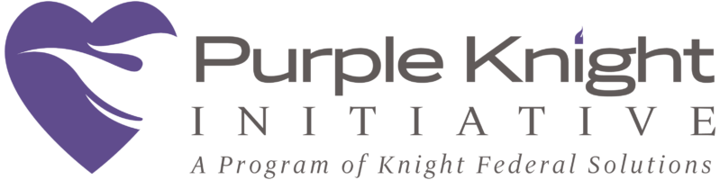 Purple Knight Initiative | A Program of Knight Federal Solutions Logo