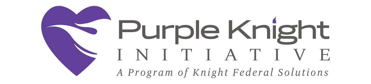Purple Knight Initiative | A Program of Knight Federal Solutions Logo