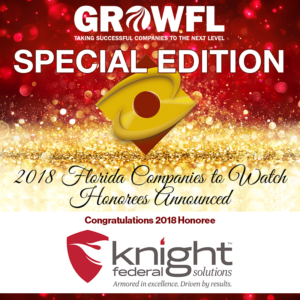 2018 Florida Companies to Watch Winner