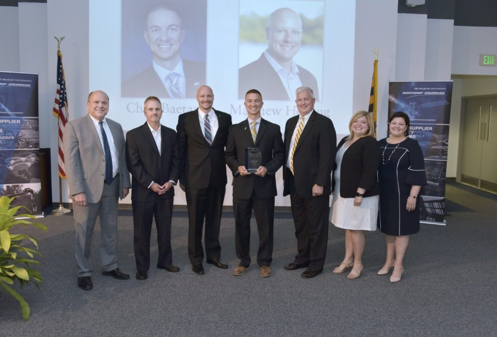 Northrop Grumman 2019 World Class Team Supplier Award